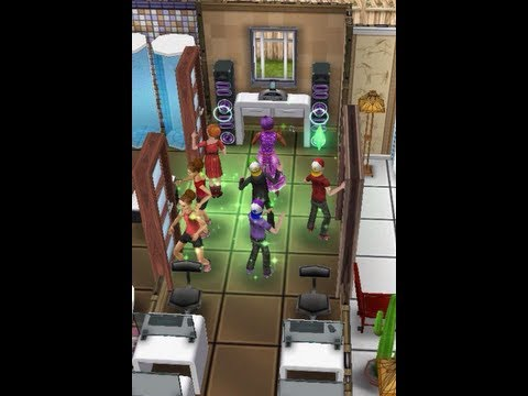 The Sims Freeplay - Design Build 2nd Floor Preteen Academy