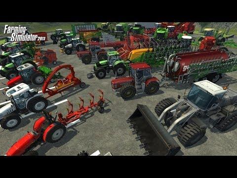 Let's Play Farming Simulátor 2013 2.díl/Kombajn a balíkování