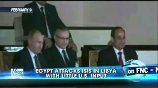 """""""البنتاجون"""": لا صلة لنا بالضربة الجوية المصرية لـ""""داعش"""" في ليبيا"""
