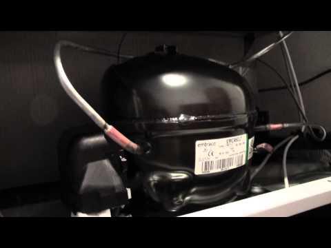 Compressore da frigorifero: avviamento e spegnimento
