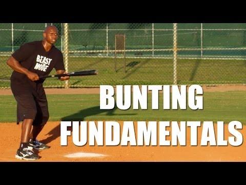 Baseball Bunting Fundamentals with Juan Pierre