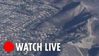 California Wildfires: live views from our helicopter - THESUNNEWSPAPER