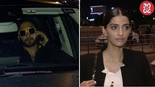Ranveer Dines Out With His Family | Sanjay, Sonam, Sridevi Spotted At The Airport