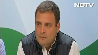 """Will Be Tough For PM To Win Elections, It's Very Clear"": Rahul Gandhi - NDTV"