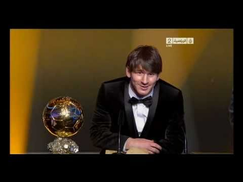 FIFA Ballon D OR Best Player of 2010 Lionel Messi