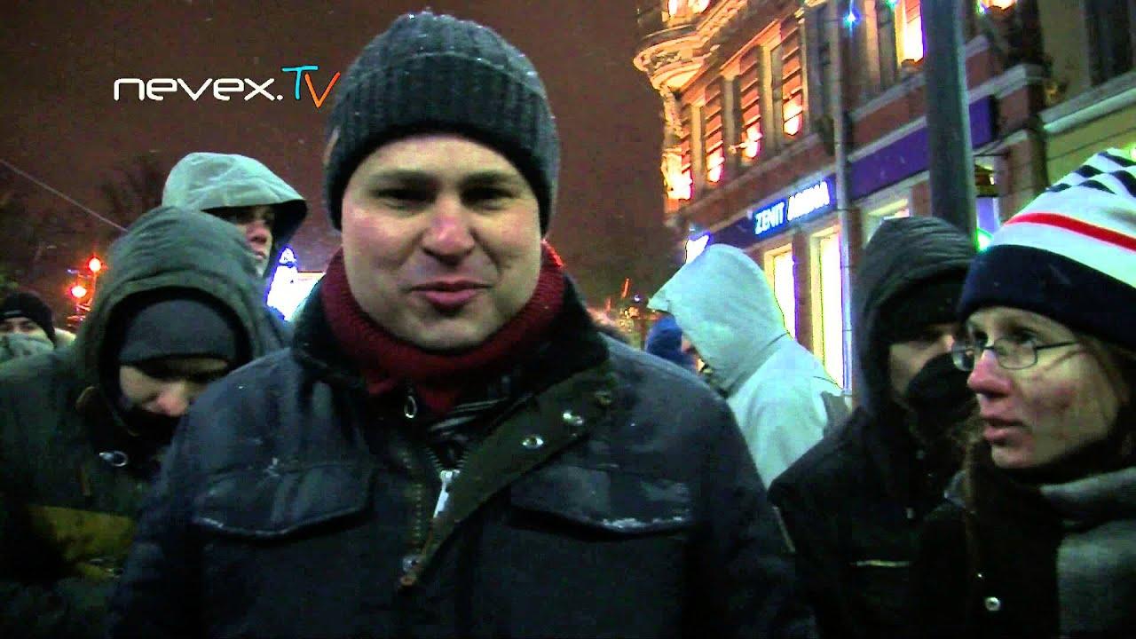 Protest la Sankt Petersburg în sprijinul fraților Navalny