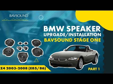 1/2: BMW Z4 '03-'08 (E85/86) Speaker Upgrade Install -Djgcv-VpCW8