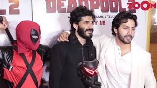 Varun Dhawan Attends 'Deadpool 2' Screening | Harshvardhan Kapoor Promotes 'Bhavesh Joshi' - ZOOMDEKHO