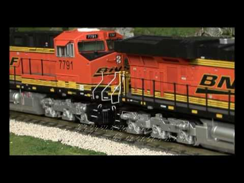 MTH Premier Line O Gauge ES44 Diesel Locomotive