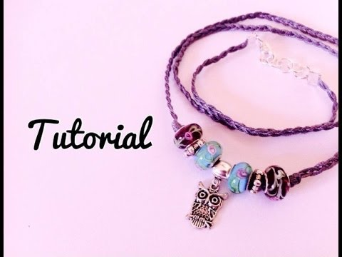 Tutorial \ Bracciale Wave Together \ Cordoncino & Perle simil-Pandora