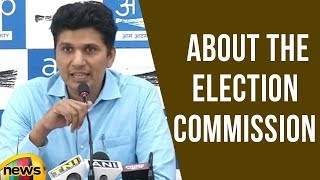 Saurabh Bhardwaj Speaks About The Election Commission | Mango News - MANGONEWS