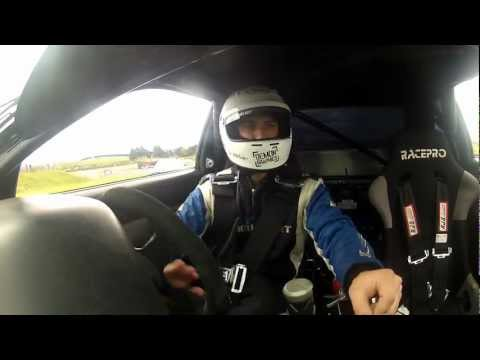 Curt Whittaker Wins D1NZ National Drifting Championship 2012 - Victory Burnout - Hampton Downs 2012