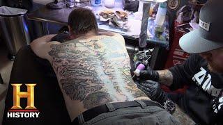 Alone: Bonus - Larry Gets a Tattoo (Season 5) | History - HISTORYCHANNEL