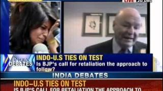 India Debate: Is scale down in diplomatic ties the right way ahead? - NEWSXLIVE