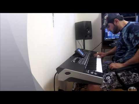 وردة ولابسة الوردي -  معلاية اماراتي - عزف نبيل جيلو