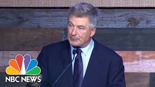 'We need To Overthrow The Government Under Donald Trump,' Alec Baldwin Tells Dems | NBC News - NBCNEWS