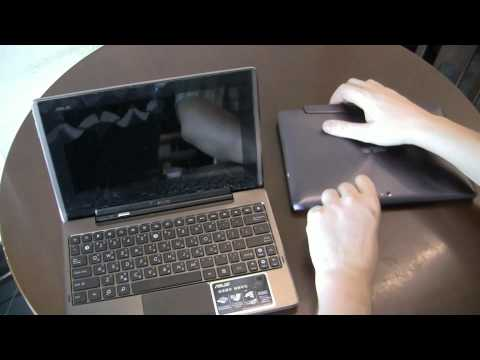 ASUS Eee Pad Transformer Prime TF201 with Docking Station Review