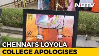 """Chennai's Loyola College Apologises For """"Anti-Government"""" Paintings - NDTV"""
