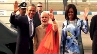 Namaste POTUS. Obama arrives in India for three-day visit - NDTV