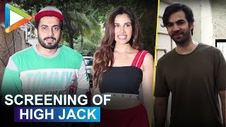 Celebs attend special screening of 'High Jack' - HUNGAMA