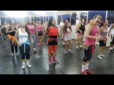 Academia do corpo - dança zumba 2014 parte 2