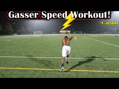 How To Run Faster: Sprinting Gasser Speed Workout!