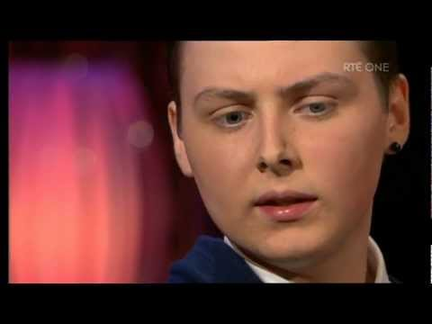 Donal Walsh speaks about his illness and suicide on The Saturday Night Show