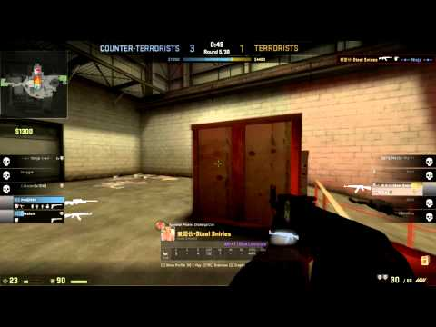[Counter Strike Global Offensive]4k AK-47 Nuke