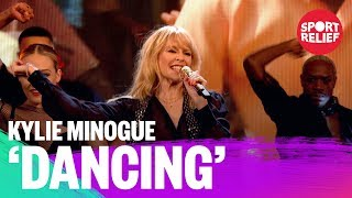 Kylie Minogue performs Dancing on Sport Relief 2018 - BBC - BBC