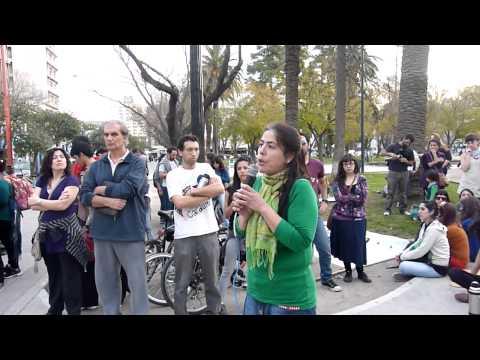 Laura García Vazquez Stop Fracking no a Chevron Enrique Gandolfo