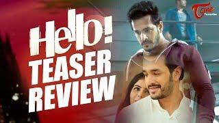 HELLO Teaser Review | Akhil Akkineni, Kalyani Priyadarshan | Vikram K Kumar - TELUGUONE