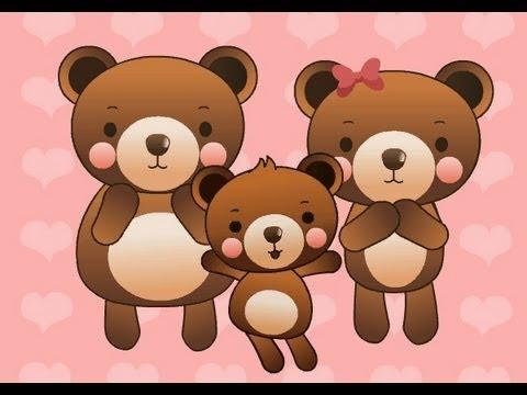 Muffin Songs – Three Bears  İngilizce Tekerlemeler ve İngilizce Çocuk Şarkılar