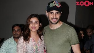 Parneeti Chopra's Easy-Breezy Look | Sidharth Malhotra Goes Casual In Tee And Denims | Style Today - ZOOMDEKHO