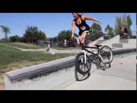 BMX : Perris Benegas could be the best female BMXer on Earth...