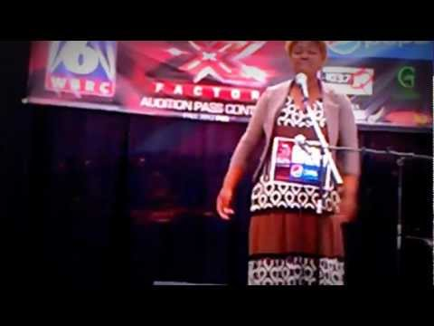 X-factor audition 2012 Terria Brown (Fallin Love)