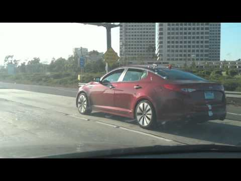 2011 Kia Optima Testing on 405