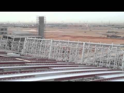 Riyadh relway station under construction