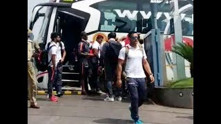 Indian cricket team arrives in Vizag ahead of second ODI against West Indies - TIMESOFINDIACHANNEL