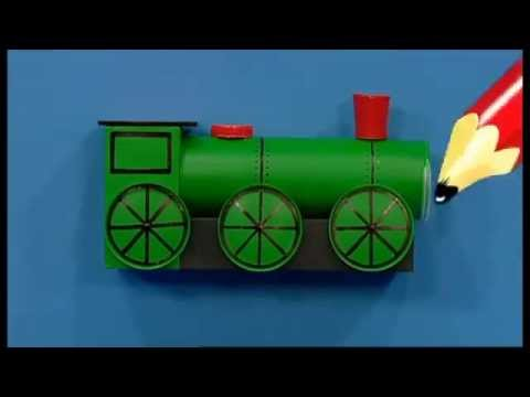 Mister Maker | Train Pencil Pot