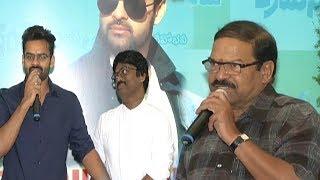 He is like another uncle to me: Sai Dharam Tej || #SDT10 movie launch || #SaiDharamTej - IGTELUGU