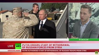 Putin orders start of withdrawal of Russian forces from Syria - RUSSIATODAY