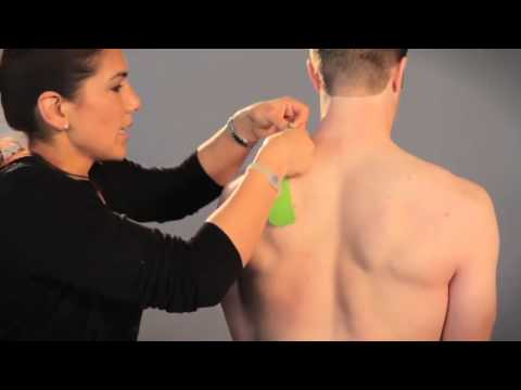 Kinesiology Taping for Low Neck Support with Perform Tex Tape