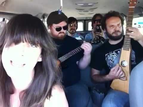 Pat Benatar - Hit Me With Your Best Shot - Cover by Nicki Bluhm &amp; The Gramblers - Van Session 20
