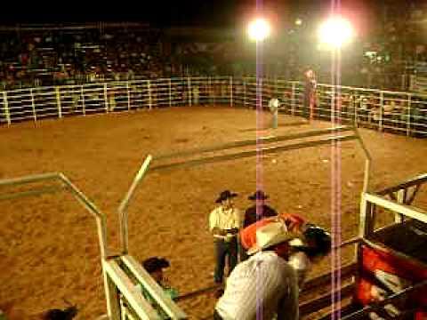 Narração no Rodeio Show - Locutor Miller Oliveira