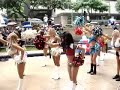 Pro Bowl Cheerleaders Get Wet Performing