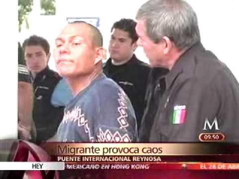 MIGRANTE DESATA CAOS EN REYNOSA TAMAULIPAS CONTRA GRUPO CRISTIANO