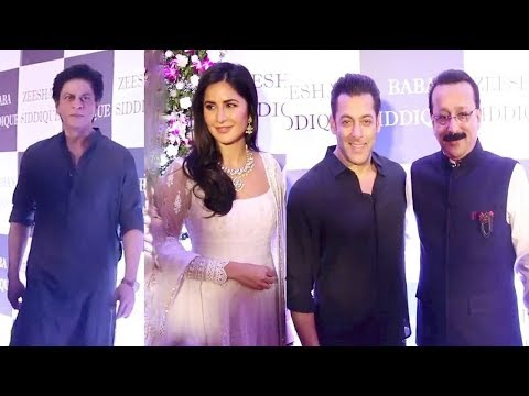 Salman Khan Gets ANGRY & IGN0RES Katrina Kaif Bcoz Of Her Closeness To Shahrukh At Iftaar Party