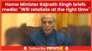 Pulwama News Live Updates: Rajnath Singh briefs media, says will retaliate at the right time - NEWSXLIVE