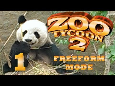Let's Play Zoo Tycoon 2 - Episode 1 - Lets Build a Zoo!