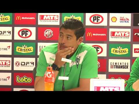 Conferencia Nicolás Córdova Final Copa Chile 11 / 11 / 2017